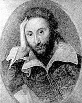 Joseph Drew - A print after the Zuccari portrait of Shakespeare