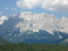 جبال الألب البافارية ويكيبيديا