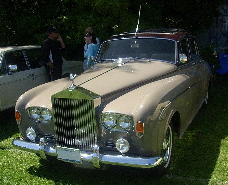 silver clodu - Rolls Roys