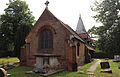 'Church of St Andrew' Greensted, Ongar, Essex England - chancel from northeast.JPG