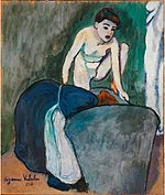'The Frog' by Suzanne Valadon, 1910.jpg