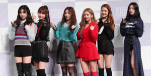 (G)I-dle in May 2018