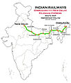 (New Delhi - Dibrugarh) Rajdhani Express (via Patna) Route map.jpg