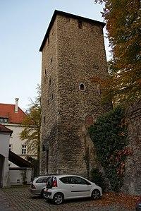 Ägidienturm (Turm XXXII) Regensburg 2010.JPG