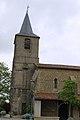 Église Saint-Abdon-et-Saint-Sennen de Labéjan - Clocher 1.jpg