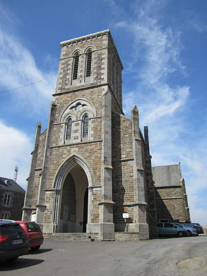 Beauchamps, Manche - The church of Saint-Crespin
