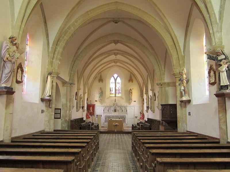 église Saint-Pierre de fr:-Pierre-d'Arthéglise