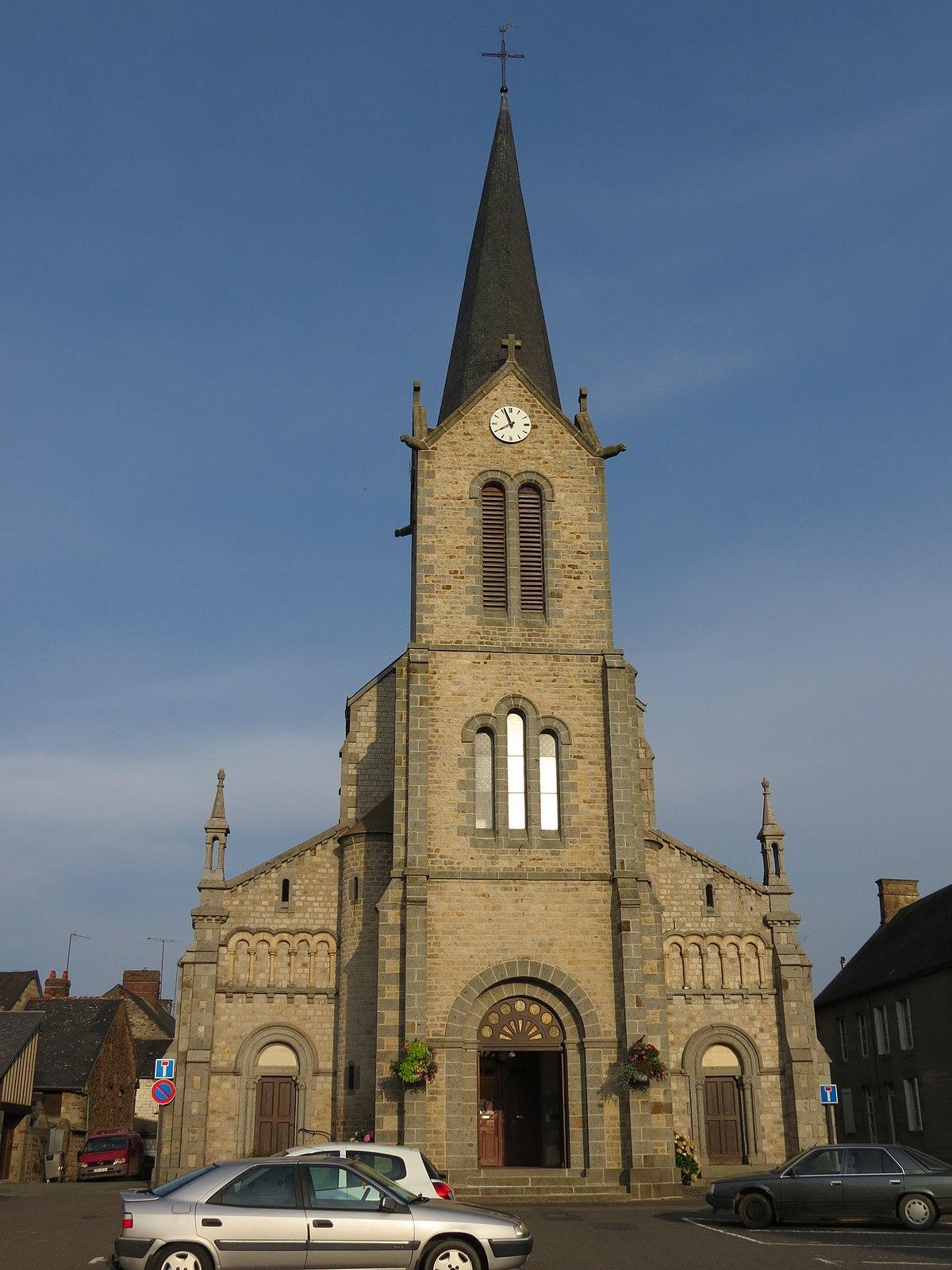 La chapelle d 39 andaine wikip dia for Garage la chapelle d armentieres