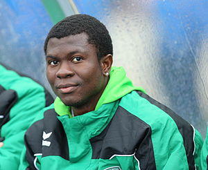 Yusuf Otubanjo - Image: ÖFB Cupfinale 2013 Yusuf Otubanjo 01