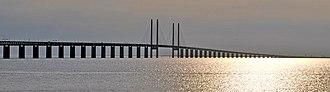 Øresund Bridge - Øresund Bridge, Øresund