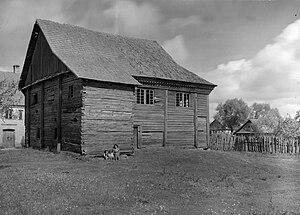 Lunna, Belarus - Image: Łuńnienskaja synagoga. Луньненская сынагога (S. Zajčyk, 1930)