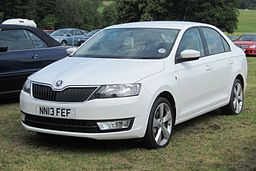 Škoda Rapid registered March 2013 1598cc