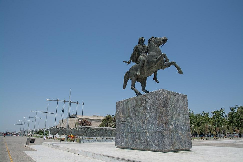 Θεσσαλονίκη 2014 (The Statue of Alexander the Great) - panoramio