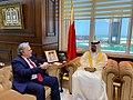 Συνάντηση ΥΠΕΞ Γ. Κατρούγκαλου με Υπ. Οικονομικών & Εθνικής Οικονομίας του Μπαχρέιν (48053956518).jpg