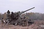 """Бойові стрільби артилерійських підрозділів на полігоні """"Дівички"""" (30569568452).jpg"""