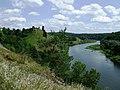 Вид на Губківський змок з боку церкви - panoramio.jpg
