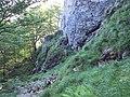 """В основата на скалата """"Крали Маркова купа"""" - panoramio.jpg"""