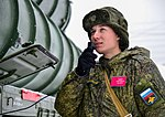 Заступление на боевое дежурство ЗРК С-400 «Триумф» в Солнечногорске 13.jpg
