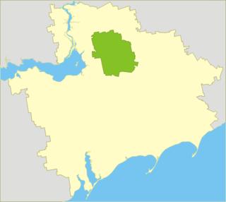 Orikhiv Raion Raion in Zaporizhia Oblast, Ukraine