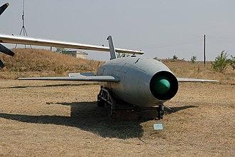 Kh-20 - A Kh-20 missile on display.