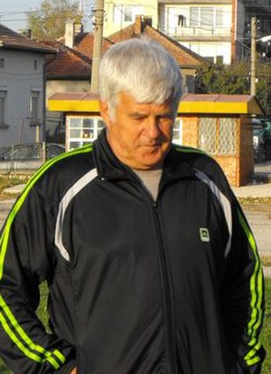 PFC Akademik Sofia - Mladen Vasilev, the club's top scorer in the league