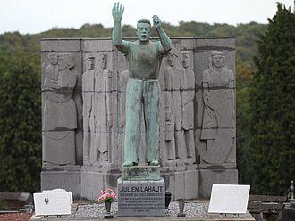 Julien Lahaut - Monument to Julien Lahaut