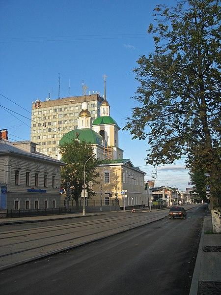 File:Пермь. Ленина, 48, церковь Рождества Богородицы05.jpg