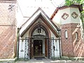 Серафимовская церковь (бывш. кирха), двери в храм, улица Маяковского, 14, Светлогорск, Калининградская область.jpg