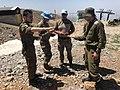 שלוחת נפח - תדרוך אונדוף בחרמון באתר נפילת רקטה מסוריה.jpg