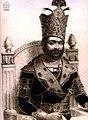 محمد شاه قاجار در روز تاجگذاری.jpg