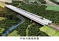 南迴鐵路電氣化牛埔川橋模擬圖.jpg