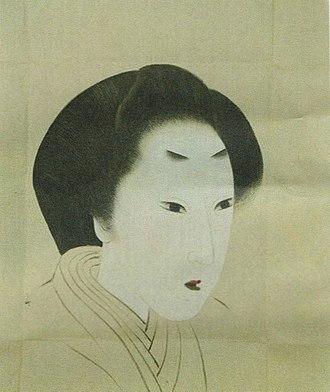 Tokugawa Ienari - Ienari's wife, Shigehime, later Kodaiin