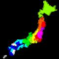 東北地方太平洋沖地震 都道府県ごとの震度.png