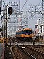 近鉄南大阪線 矢田7号踏切付近 Deadhead train 2012.1.14 - panoramio.jpg