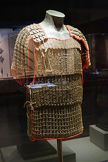 Chinese armour Type of armor