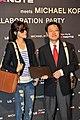 엑스노트 마이클 코어스 에디션 론칭 행사에 참석한 김하늘, LG전자 이태권 팀장.jpg