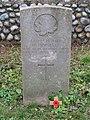 -2020-12-09 CWGC gravestone, W Hinnells, Canadian Army Medical Corps, Saint Nicholas, Salthouse.JPG