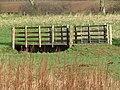 -2021-03-15 Bridge over the Drainage channel, Bransmeadow Carr, Ridlington, Norfolk.JPG