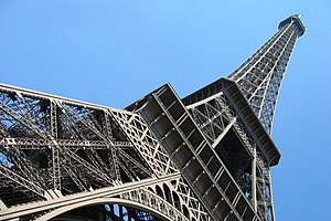 Eiffel Tower in Paris (France)