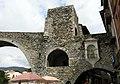 013 Pont Nou, antic portal de Cerdanya i fornícula de Sant Roc (Camprodon).JPG