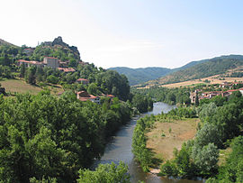 Saint-Ilpize and the Allier river