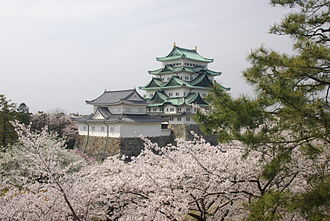 Nagoya Castle - The two main keeps of Nagoya Castle