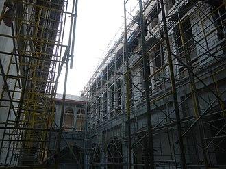 Museo de Intramuros - Casa Misión Convent construction progress as of June 8, 2017