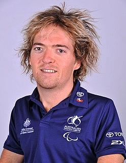Grant Patterson Australian male swimming Paralympian