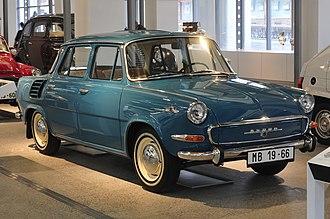 Škoda 1000 MB - Škoda 1000 MB, model 1966