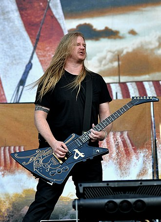 Amon Amarth - Olavi Mikkonen in 2016