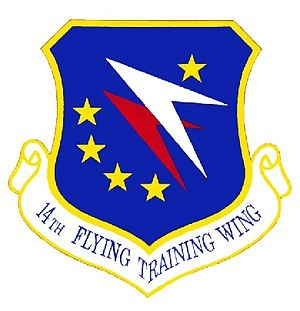 Emblem from 14th Flying Training Wing (USAF)