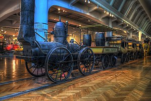 DeWitt Clinton (locomotive) - DeWitt Clinton train at the Henry Ford Museum