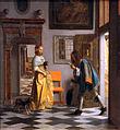 1670 de Hooch Der Liebesbote anagoria.JPG