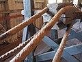 1700-tals tross tillverkas i repslagarbanan.JPG